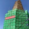 内蒙古赤峰市敖汉旗辽代武安州白塔抢救性加固完成
