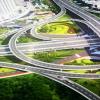 郑州四环线及大河路快速化工程高架主线试通车