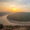中国最美十大峡谷之一黄河太极湾