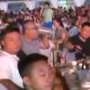 燕京啤酒节现场不但有无人机拍摄还有新媒体的全程直播