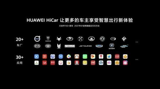 华为在其全屋智能及智慧屏发布会上正式发布车载智慧屏